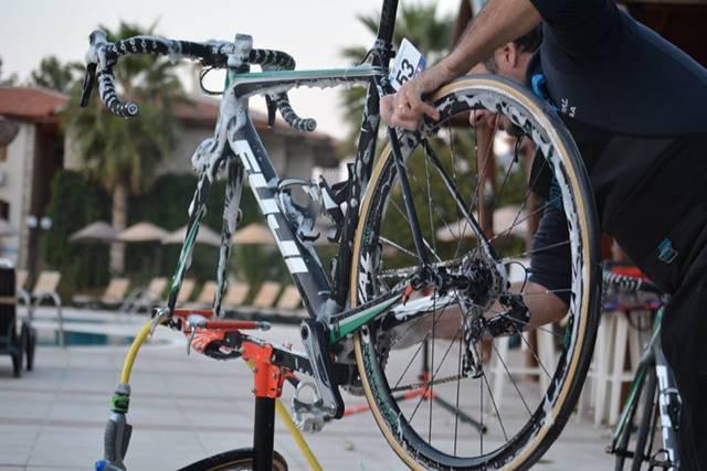 limpiar y engrasar bicicleta
