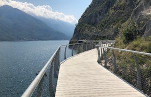Ruta ciclista espectacular Lago di Garda en Italia