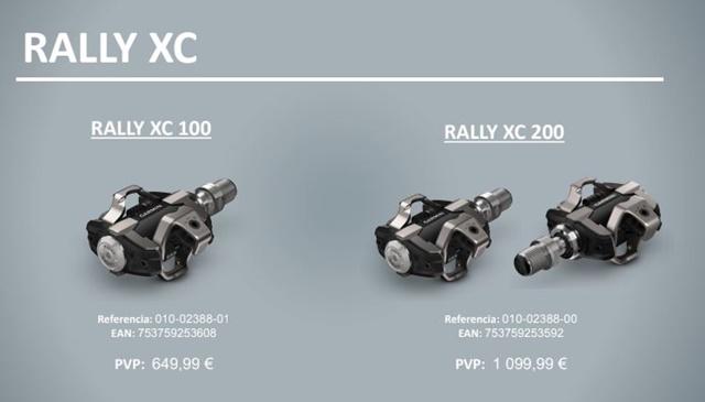 garmin rally xc pedales MTB