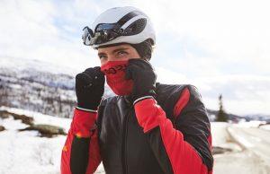 frío en bicicleta, como protegerse