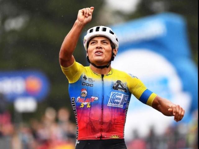 Caicedo narvaez y carapaz ciclismo colombiano