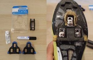 Como cambiar las calas zapatillas ciclismo