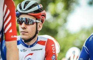 ciclista frances retirada
