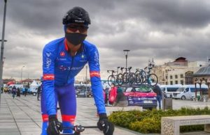 ciclismo competir con mascarilla