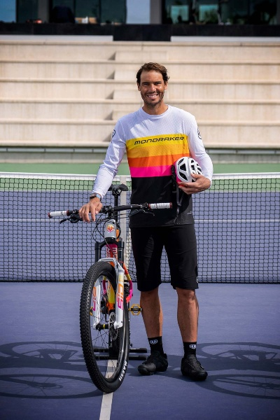 Rafa Nadal MTB bici Mondraker
