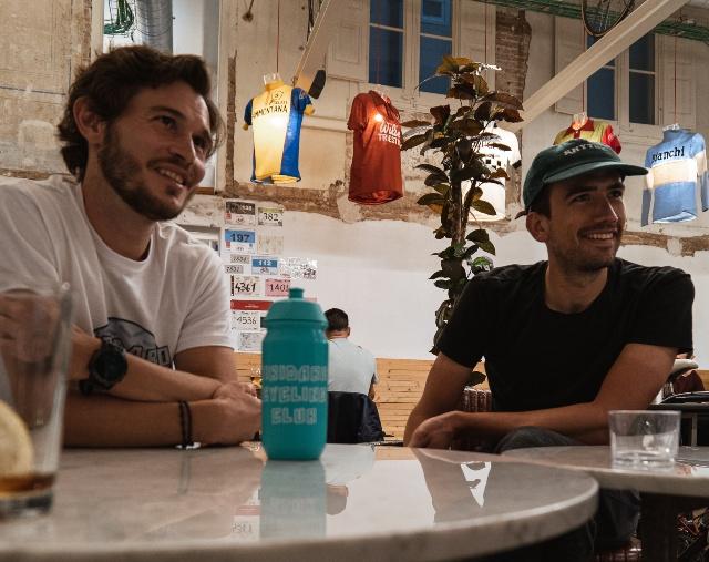 Tibidabo Cycling Club entrevista bar