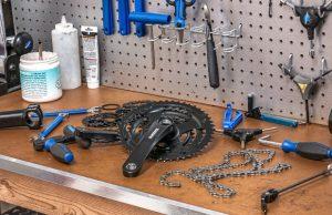 herramientas básicas ciclista casa cadena