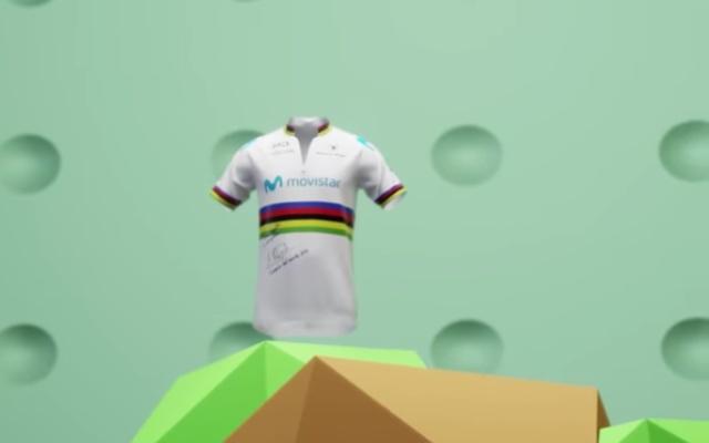 NFT Movistar Team Alejandro Valverde