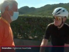 Televisión francesa confunde a Chris Froome