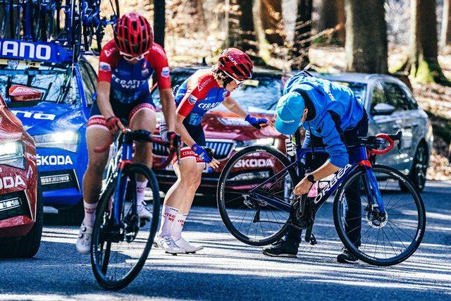 cambio mecanico ciclismo