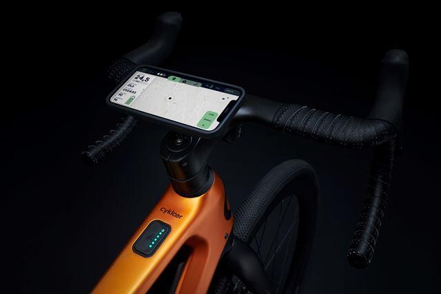 cargador movil bicicleta porsche