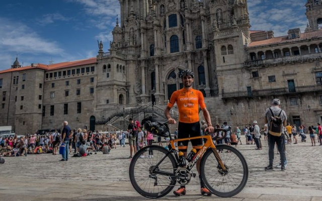 Luis Ángel Maté bikepacking La Vuelta