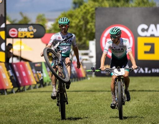 Ben Zwiehoff Bora Cape Epic primer ciclista Gran Vuelta