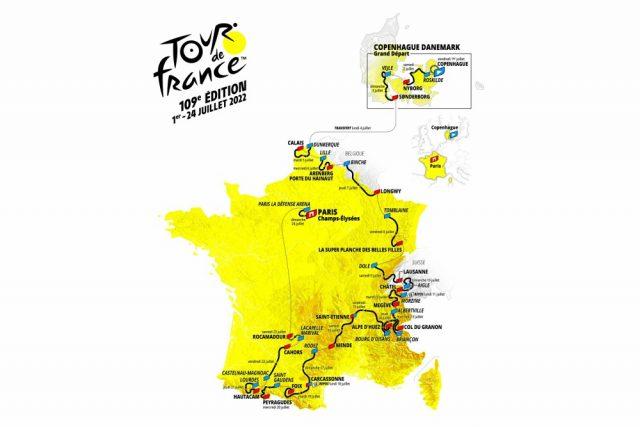 etapas y fechas tour de francia 2022