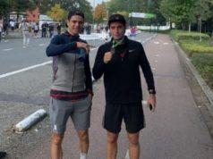 Van Aert running