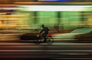 ciclismo luces bicileta noche
