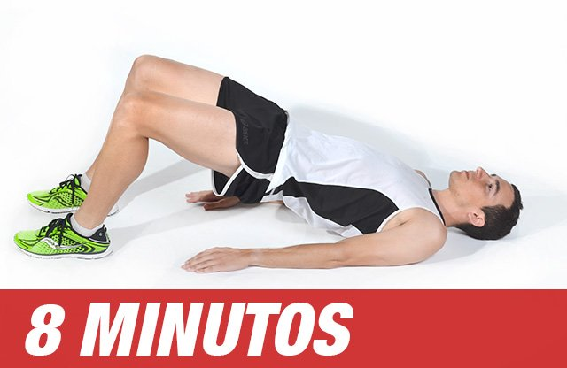 8 minutos al día