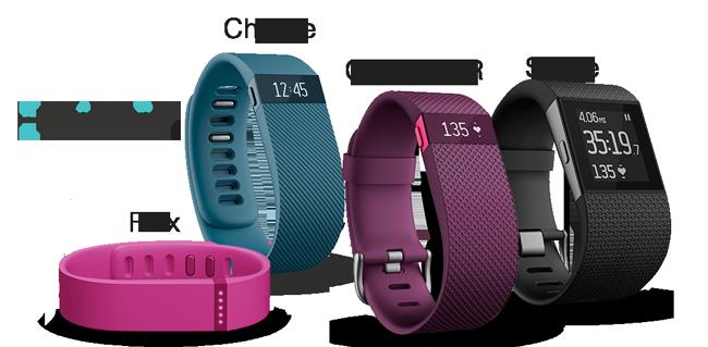 fitbit pulseras actividad charge flex surge