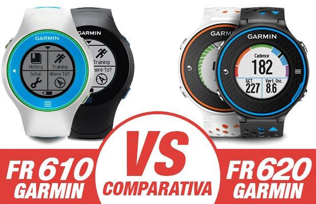 Garmin FR610 VS FR220