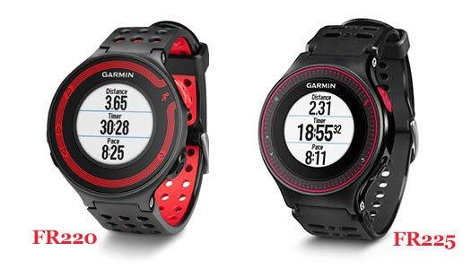 Garmin FR220 VS FR225