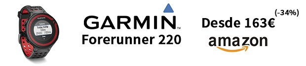oferta Garmin Forerunner 220