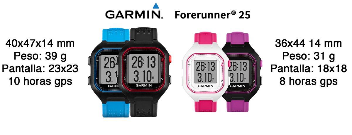 forerunner-25-modelos