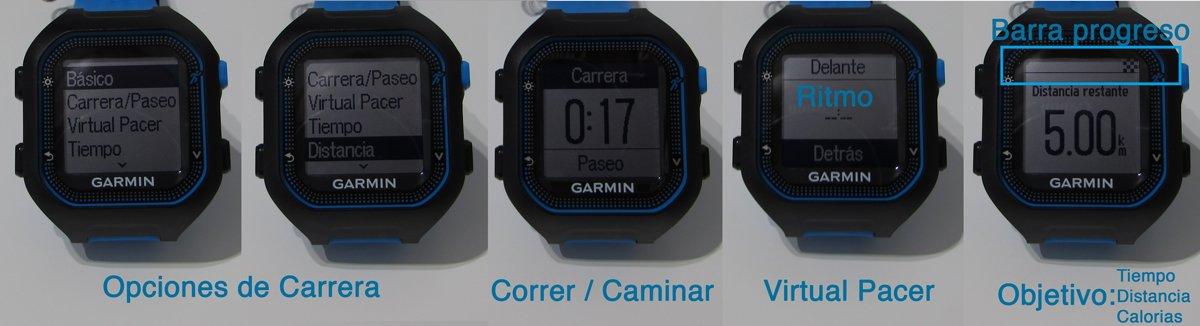 garmin-forerunner-FR25-pantalla-opciones-carrera-2