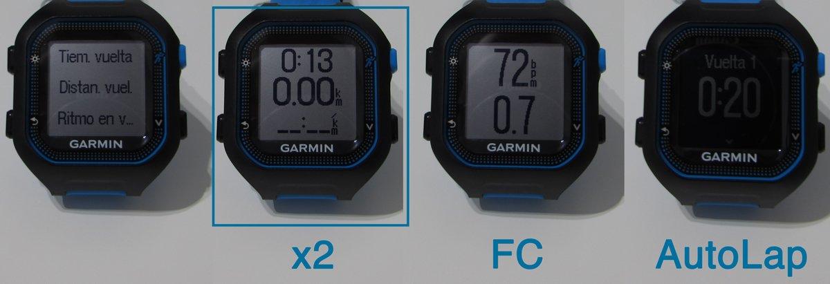 garmin-forerunner-FR25-pantallas