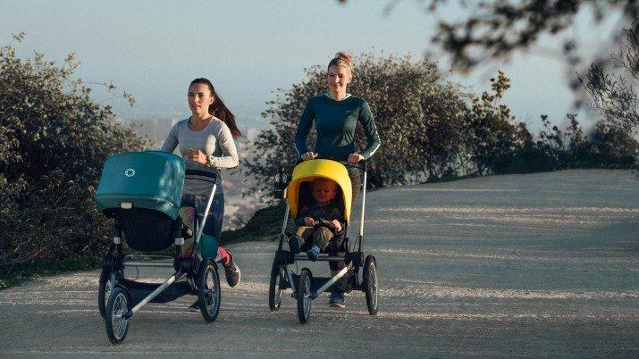Resultado de imagen de correr carrito de bebe