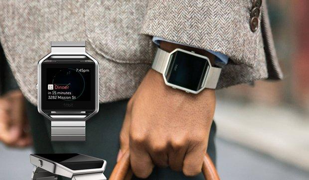 Fitbit blaze con correa metálica
