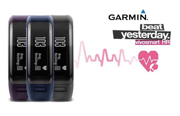 Pulsera de actividad Garmin Vivosmart HR con pulsómetro óptico