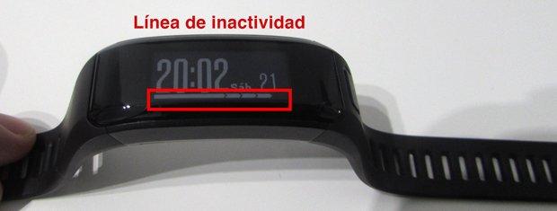 alertas de inactividad pulseras de activdiad