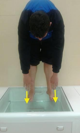 test para valorar grado de elongación de los isquiotibiales