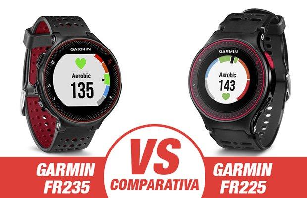 comparativa Forerunner 235 vs Forerunner 225