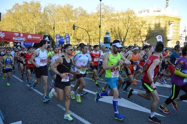 resultados y fotos maraton de Madrid 2016