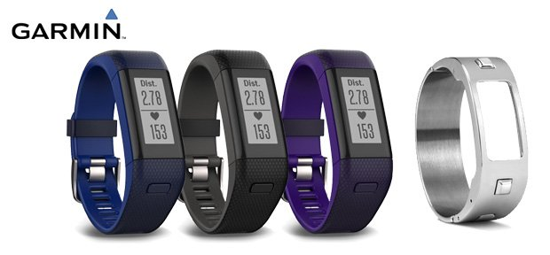 garminvivosmart HR plus con gps colores