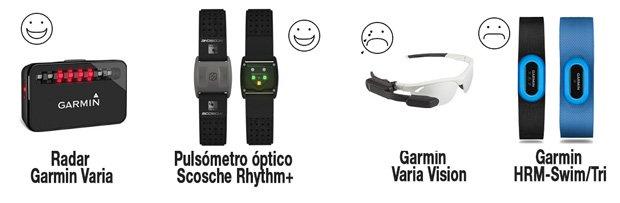 mejores y peores accesorios y pulsómetros