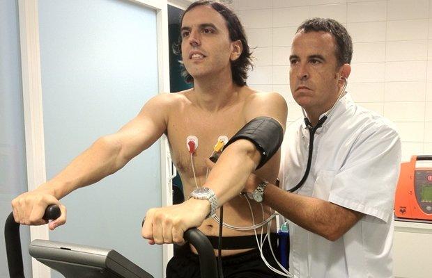 revision medica deportiva con prueba de esfuerzo