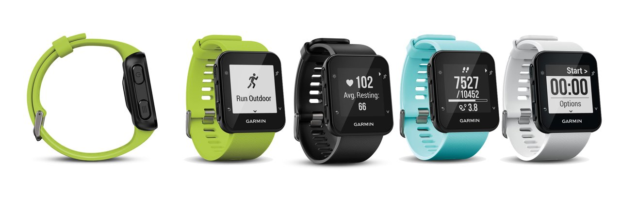 Garmin Forerunner 35 colores disponibles