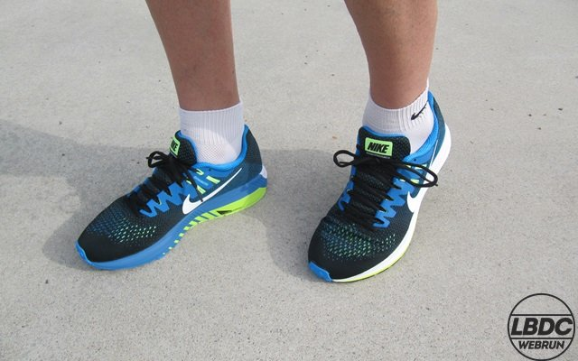 Review Nike structure 20 -