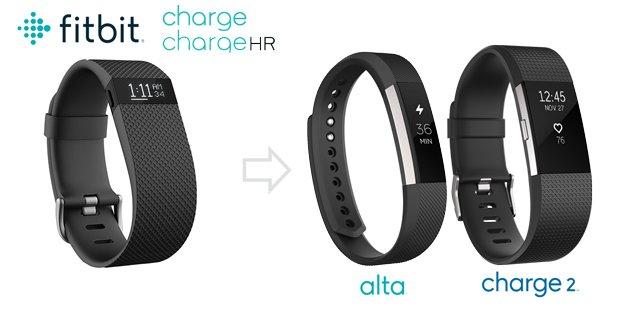 nuevas fitbit charge 2 y alta