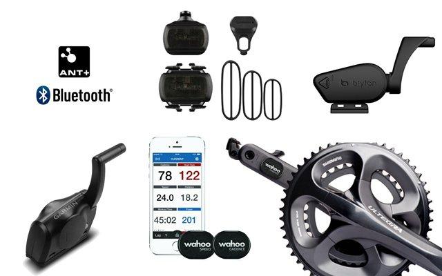 sensores de cadencia y velocidad para ciclismo garmin wahoo