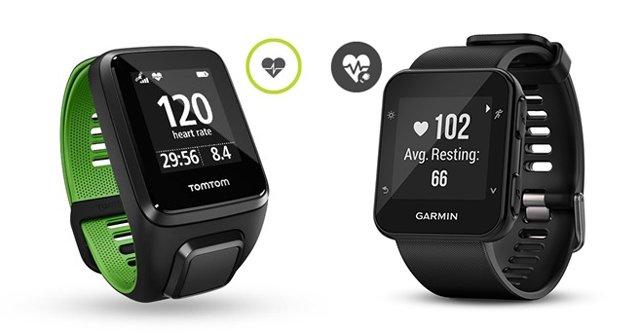 tomtom runner 3 cardio versus garmin forerunner 35