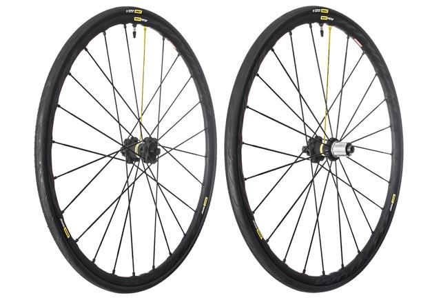 mavic ksyrium road racing wheels