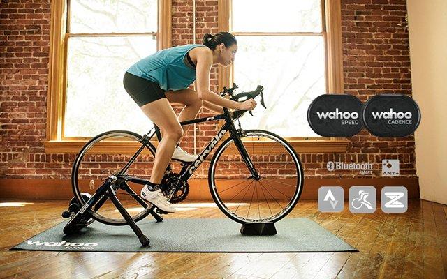 sensor de cadencia y velocidad para ciclismo sin imanes wahoo rpm