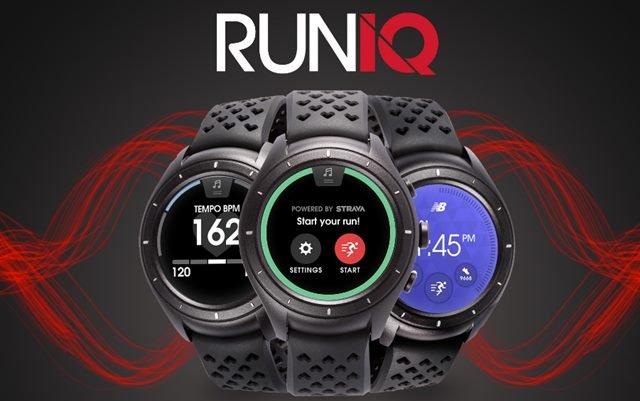 Reloj GPS RunIQ de New Balance