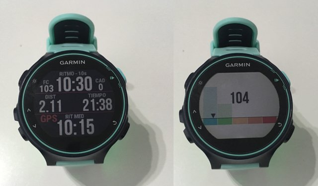 Campos de datos (data fields) de Connect IQ para relojes-gps de Garmin