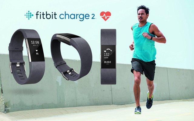 pulsera actividad y pulsómetro fitbit charge 2