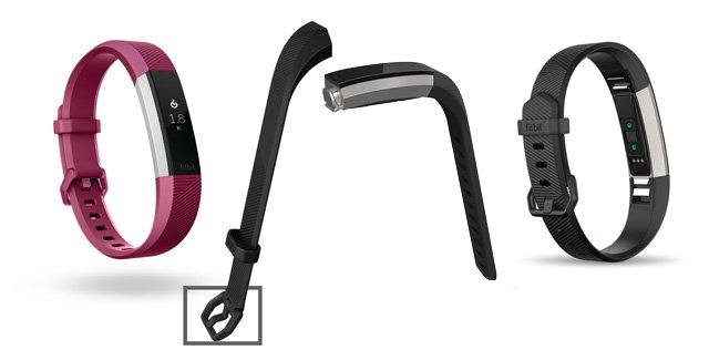 Fitbit alta HR con correas intercambiables y cierre de hebilla
