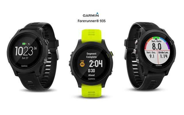 garmin Forerunner 935 reloj gps triatlon con sensor óptico
